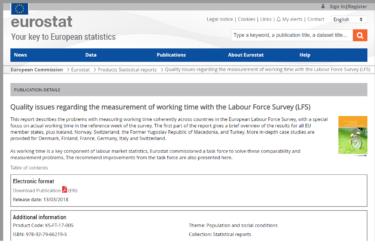 水野谷武志「Eurostat研究報告書―労働力調査による労働時間測定に関する質の課題―の紹介」